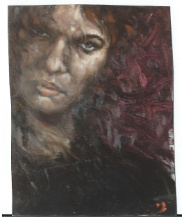 Portrait by Akira, Florence 1989