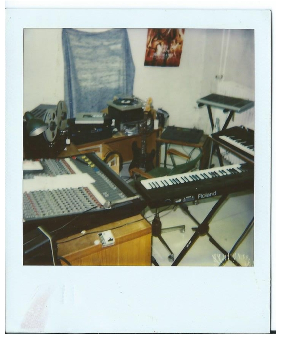 Started to work as a composer for Cantabile 2. My studio in Denmark - 92