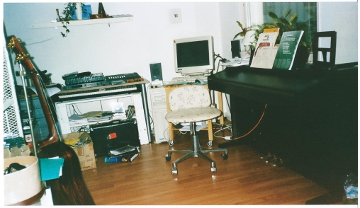 Studio at Torsdagsgatan.