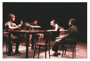 From the performance Tavola Rasa by director Francesco Gigliotti. Performing in Firenze.